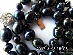 Tahiti fekete gyöngy lánc