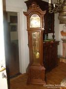 Antik faragott  barokk állóóra 3 súlyos eladó!