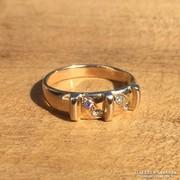 Antik női arany gyűrű