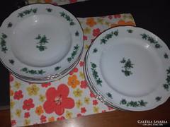 Bavaria étkészlet,zöldvirágos finom porcelán!