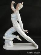 Hollóházi porcelán Seherezádé nagy 24 cm-es