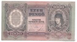 1000 Pengő 1943   Bomba jó áron!!!