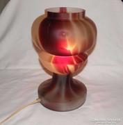 Retro Üveg Asztali Lámpa