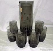 Retro Harz Kristall Készlet 1960s'