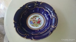 Altwien porcelán tányér,tál, Kináló