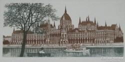 SZÉP KERETBEN! Gaal Domokos: Parlament, Budapest