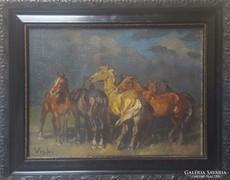 Viski János Eredeti festménye