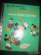 Walt Disney Mickey Mouse and the Great Lot Plot mesekönyv