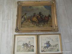 Lovas festmények