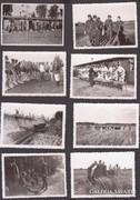 8 db II-vh-s fotó, német katonák. Eredeti.