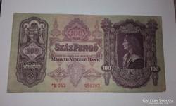 Csillagos Száz pengő 1930-as!