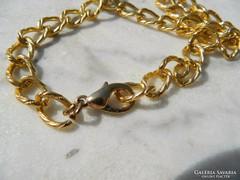 Nagy méretű hosszú arany színű lánc - nyaklánc