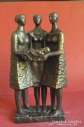 Eladó Czinder Antal szobor 1973 Dentes50 vásárlónak