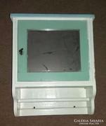 Régi tükrös Fali Téka v. Borotválkozó fali szekrény
