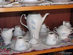 Porcelán kávés készlet  17.db-os