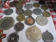 Verseny érmék