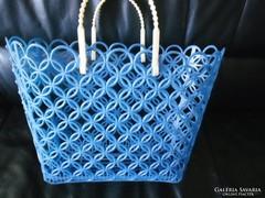 Retro műanyag bevásárló szatyor