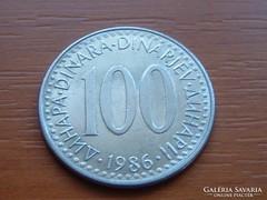 JUGOSZLÁVIA 1000 DINÁR 1986
