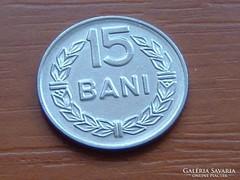 ROMÁNIA 15 BANI 1966