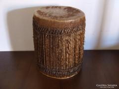 Valódi afrikai bőrből készült dob