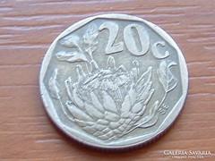 DÉL-AFRIKA 20 CENT 1994 VIRÁG