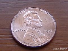 USA 1 CENT 2013 / D