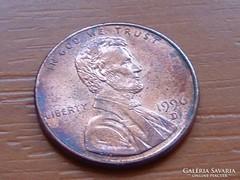 USA 1 CENT 1996 / D