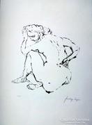 Szalay Lajos sokszorosított grafika