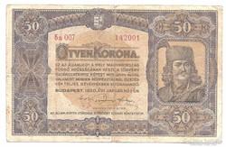 50 Korona 1920   Bomba jó áron!!!