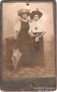 Régi fotó, vizitkártya - Rauch Ede - cca. 1900