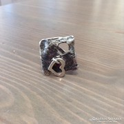 Kézműves állítható ezüst gyűrű