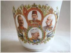I.világháborús, Ferenc József, ritka antik csésze