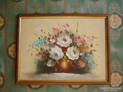 Olaj-farost festmény......