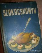 SZAKÁCSKÖNYV CUKRÁSZAT 1955 év