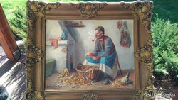 "Horváth G. Andor ""Kukorica morzsoló"""