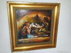 Eladó a képen látható Alim Adilov festménye