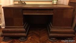 Tömör fa íróasztal