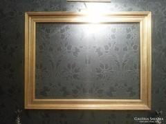 Nagy méretű vágható arany színű képkeret 64x86 cm