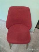 Piros retro fotel