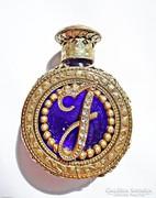 Régi díszes parfümös üveg