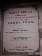 Eredeti antik 180 éves biblia