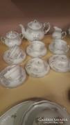 Gyönyörü szép zsolnay teás készlet