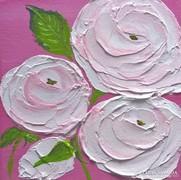 Virágos-modern mini festmény 34