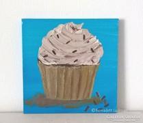 Cupcake-modern mini festmény 30