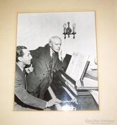 Bartók Béla, Sándor György, SGY dedikálásával fotó