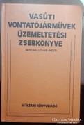 Vasúti vontatójárművek üzemeltetési zsebkönyve-MÁV
