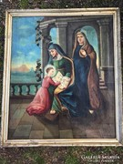 Barokk szent kép.
