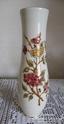 Gyönyörű Zsolnay pillangós váza!26 cm