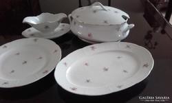 Meisseni porcelán 4db