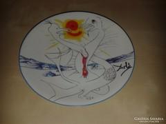 Dali dísztányér, 'La conquete du Cosmos'